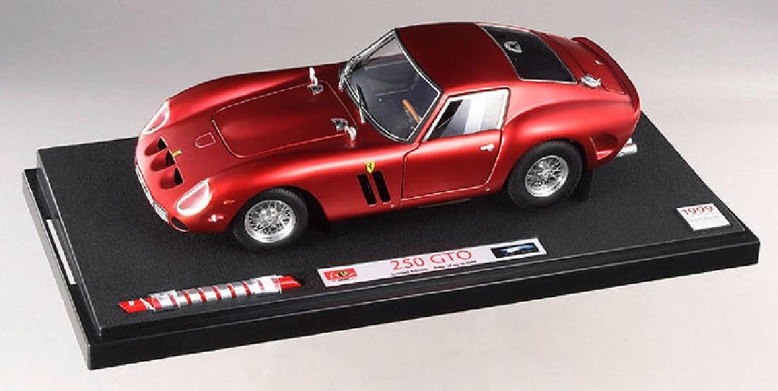 1:18 Hot Wheels ferrari 250 GT Spider Dark Red New en Premium-modelcars