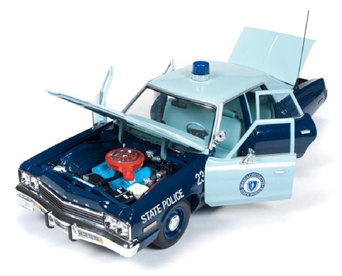 Auto World Scale 1:18 Dodge Monaco State Police 1974 - 2