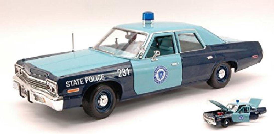 Auto World Scale 1:18 Dodge Monaco State Police 1974 - 6