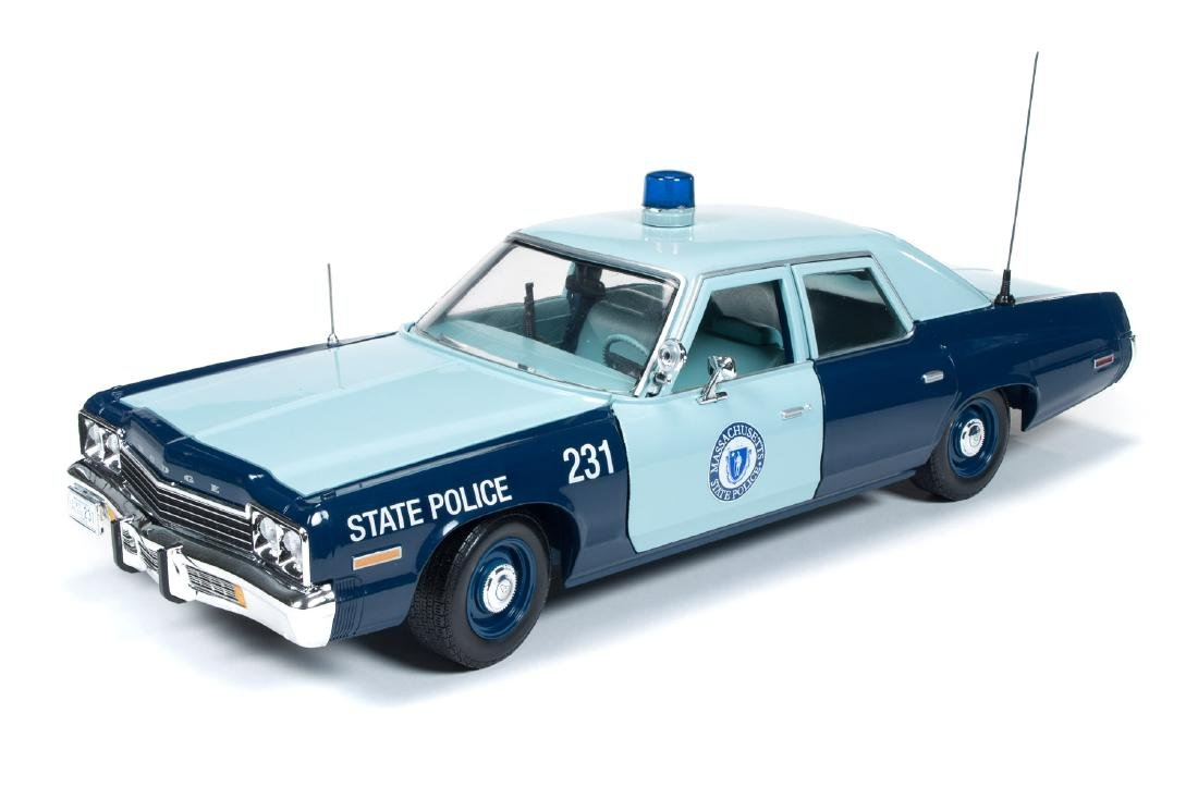 Auto World Scale 1:18 Dodge Monaco State Police 1974 - 7