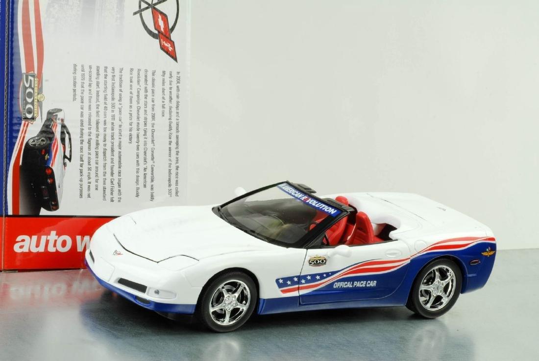 Auto World 1:18 Chevrolet Corvette Indy 500 Car 2004