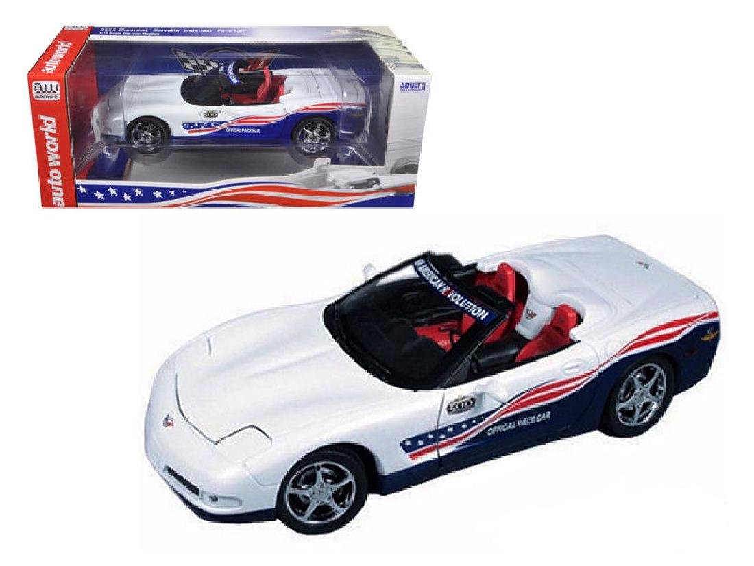 Auto World 1:18 Chevrolet Corvette Indy 500 Car 2004 - 7