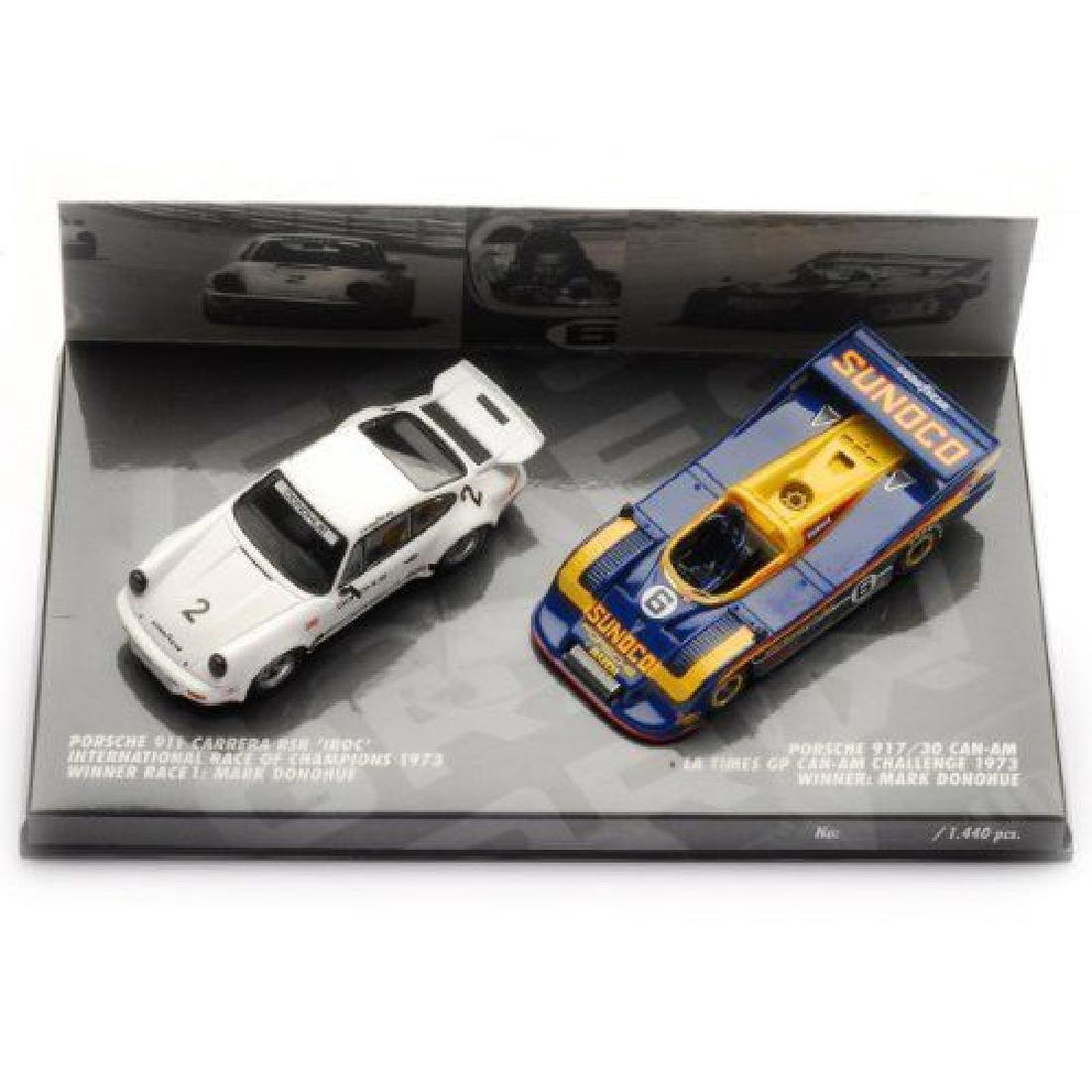 Minichamps Scale 1:43 Porsche 911 917 Mark Donohue 1973 - 2