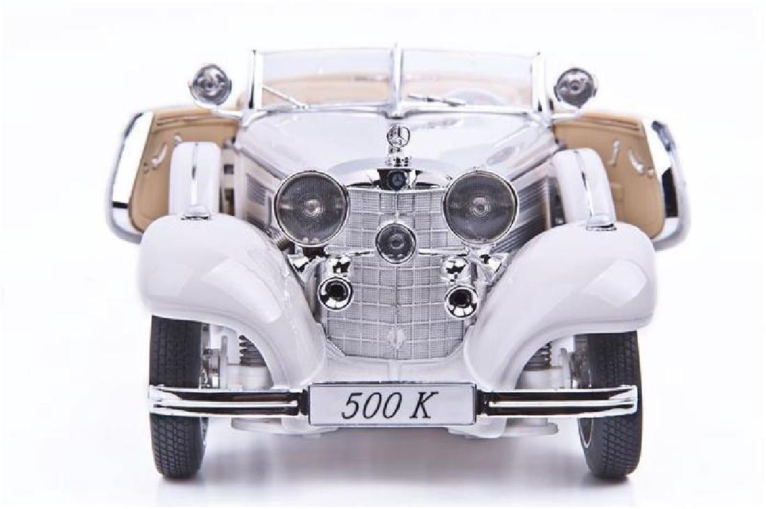 Maisto Scale 1:18 MercedesBenz 500 Specialroadster 1936