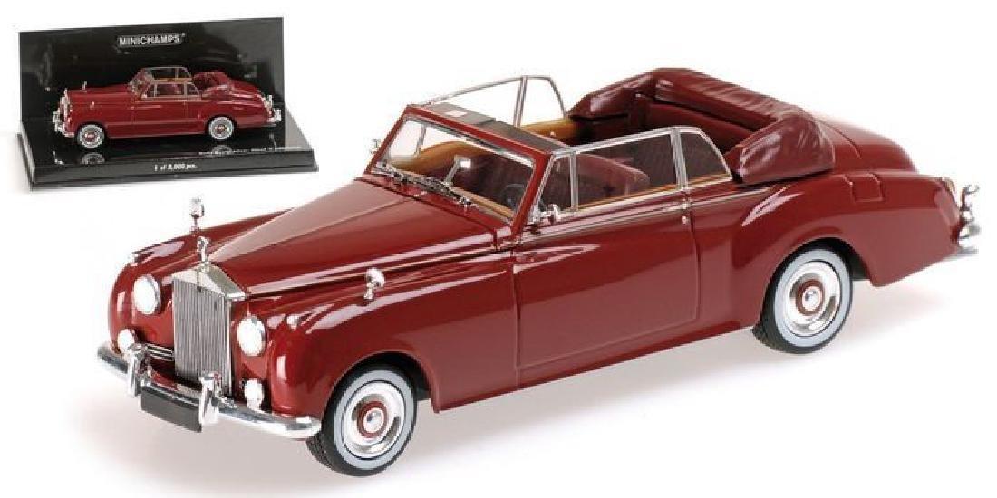 Minichamps 1:43 Rolls-Royce Silver Cloud II Cabriolet