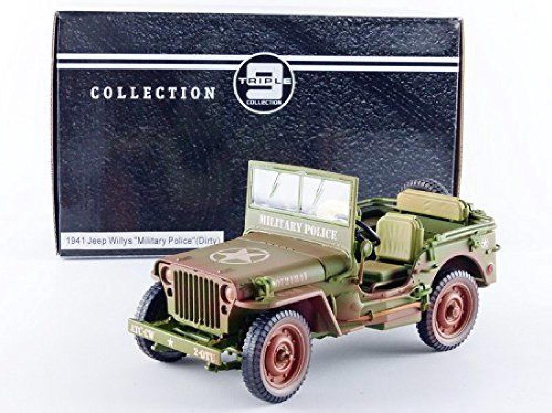 Triple 9 Collection 1:18 Jeep Military Police 1941