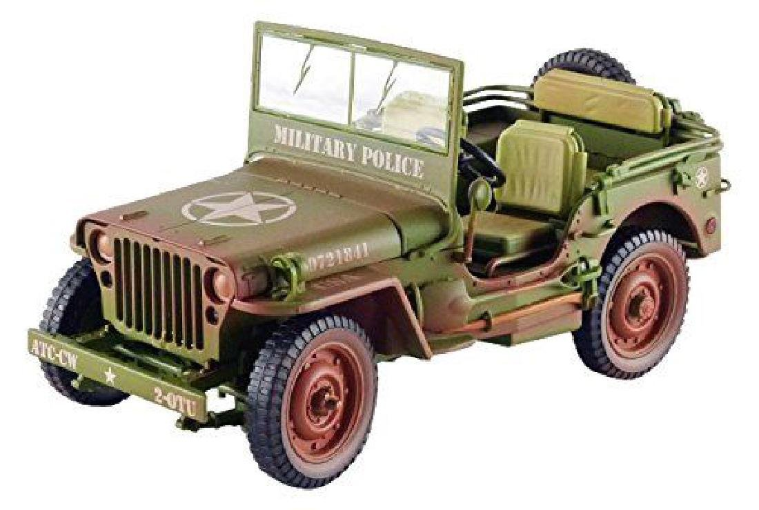 Triple 9 Collection 1:18 Jeep Military Police 1941 - 2