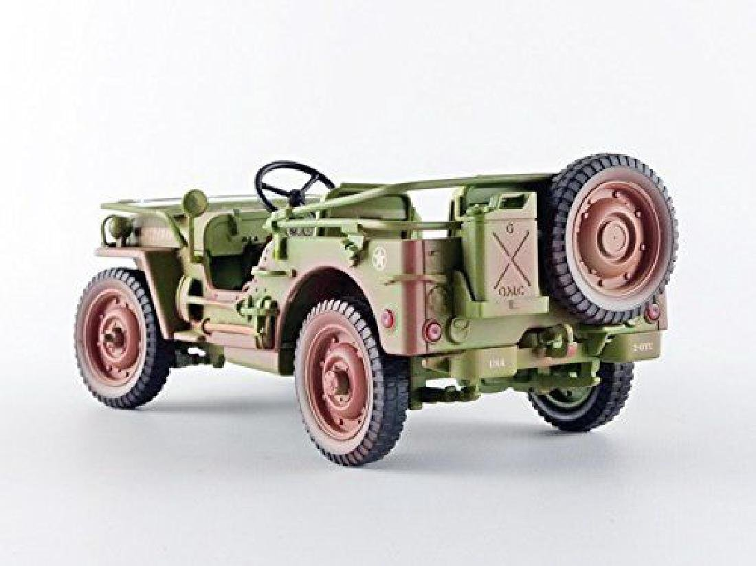 Triple 9 Collection 1:18 Jeep Military Police 1941 - 4