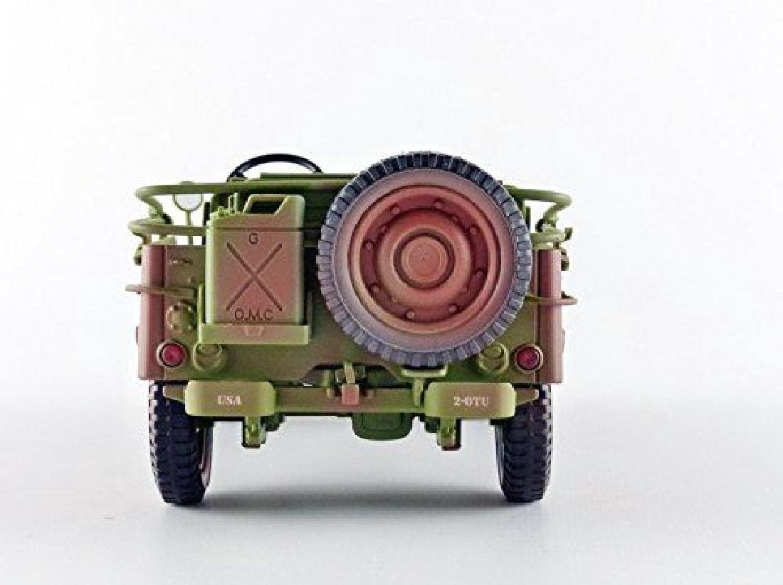 Triple 9 Collection 1:18 Jeep Military Police 1941 - 5
