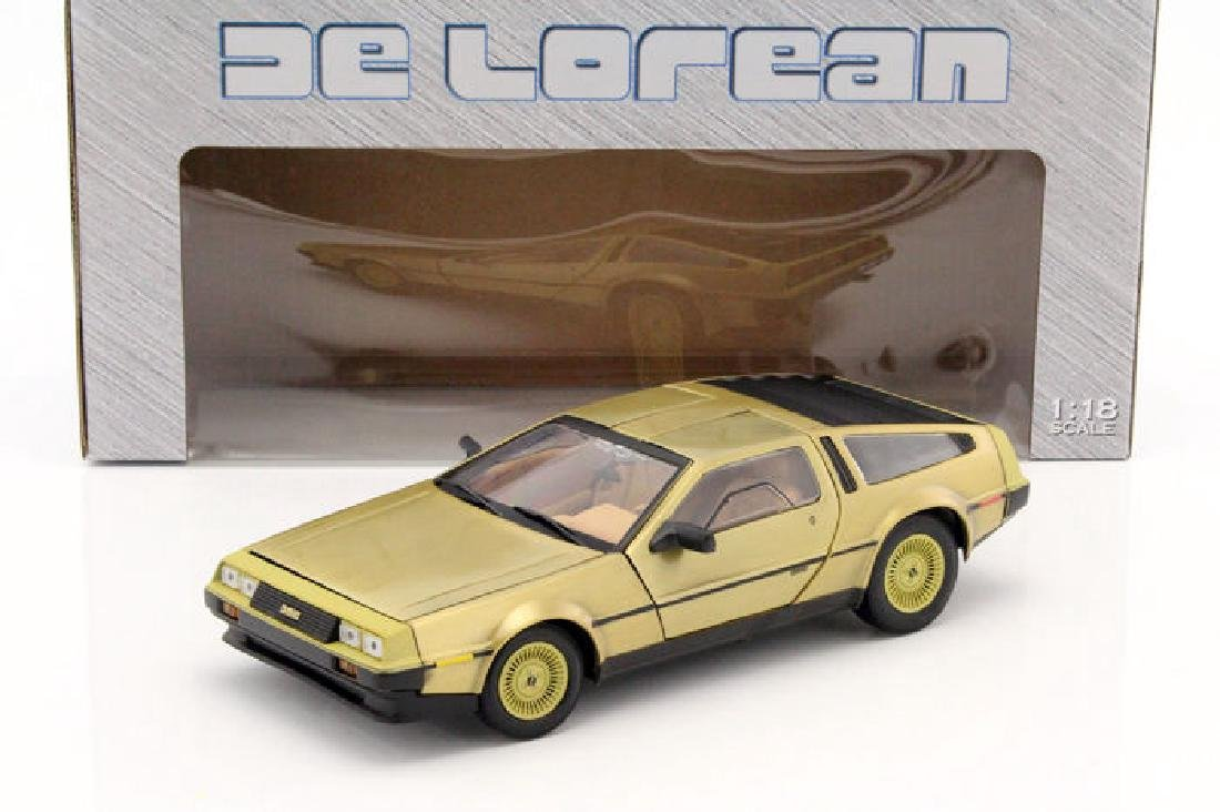 Sun Star Scale 1:18 DeLorean Gold Edition 1981 - 10