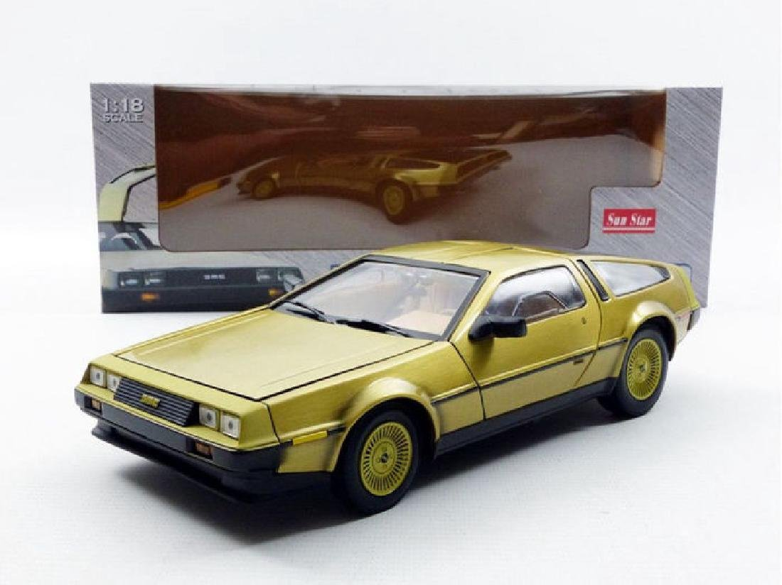 Sun Star Scale 1:18 DeLorean Gold Edition 1981