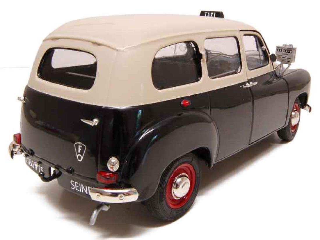 Solido Scale 1:18 Renault Colorale Taxi 1953 - 7