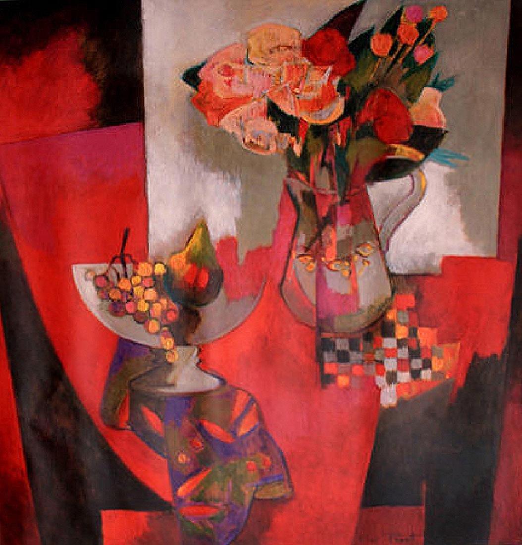 Fleurs et Fruits by Pierre Pivet Print