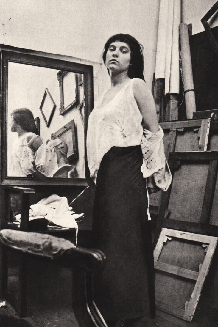 PIERRE BONNARD - Model in Artist's Studio