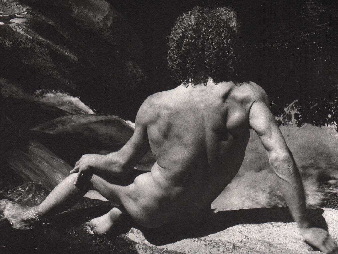 LUCIEN CLERGUE -  Male Nude