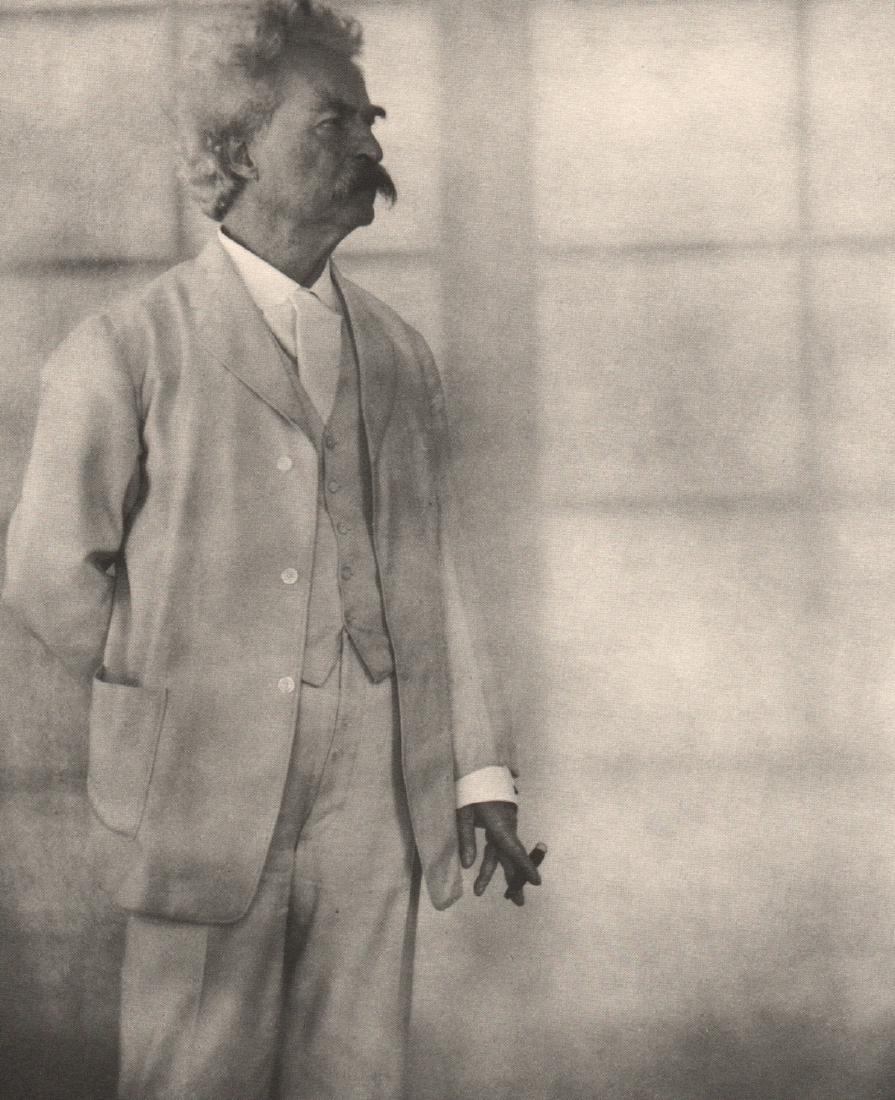 ALVIN LANGDON COBURN - Mark Twain, 1908