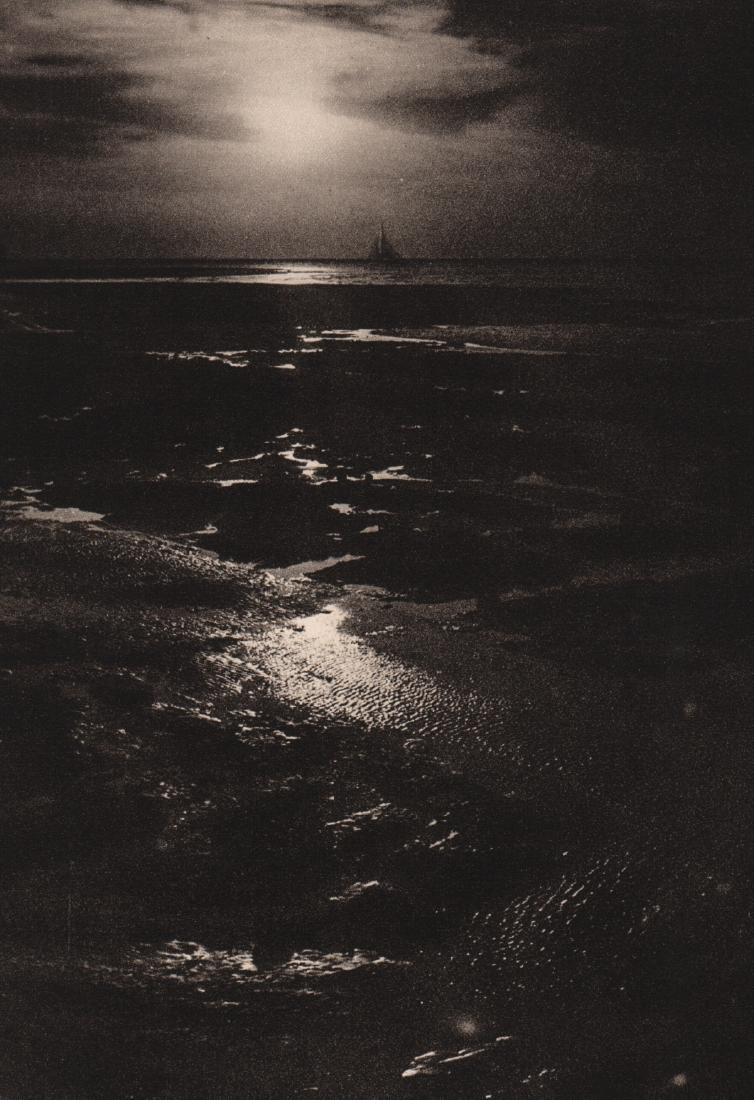 JOHN EVERARD - Easter Sunset, Margate