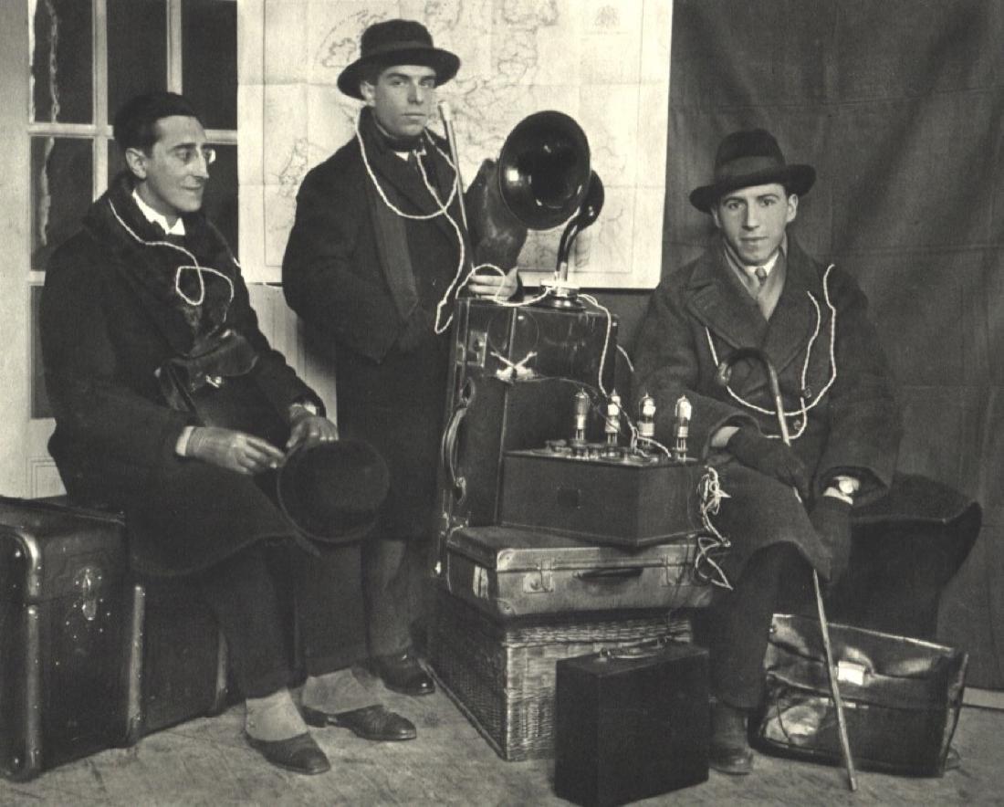 ANDRE KERTESZ - Paul Dermee, Prampolini, & Seuphor
