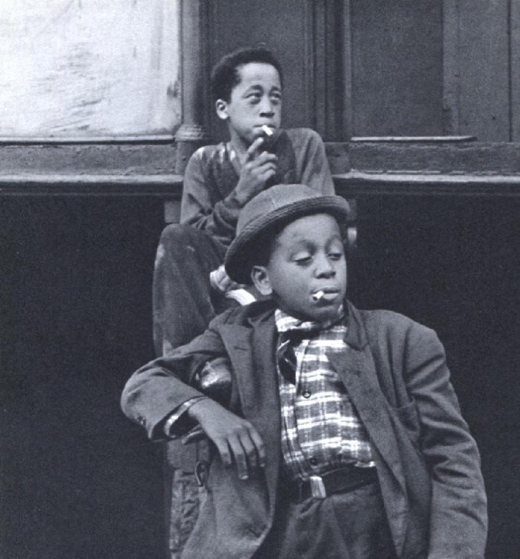 HELEN LEVITT - Boys of Spanish Harlem