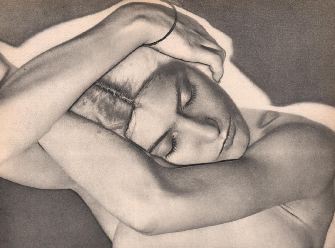 MAN RAY -  On Folded Arms - Partial Solarization