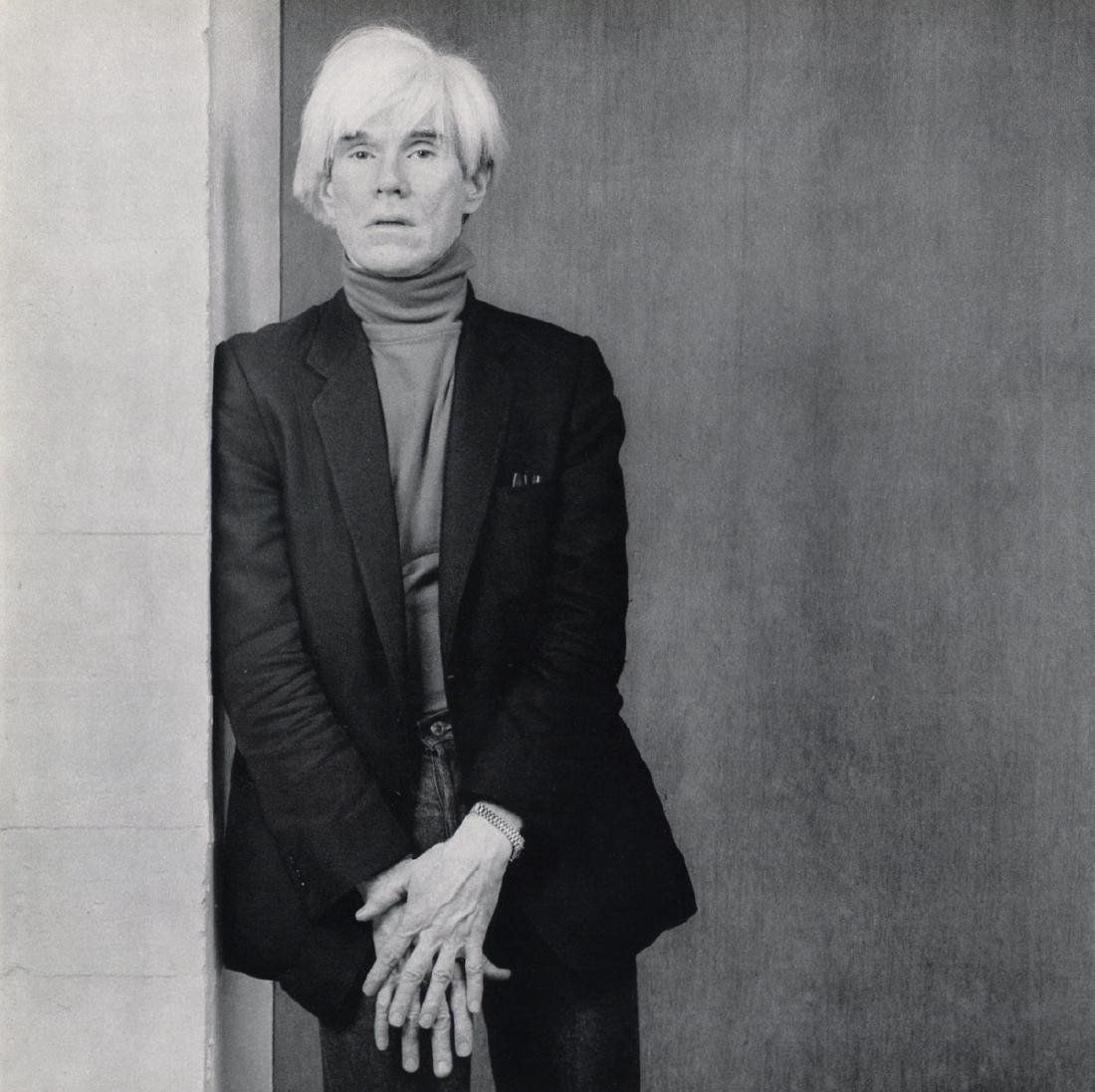 ROBERT MAPPLETHORPE - Andy Warhol, 1983