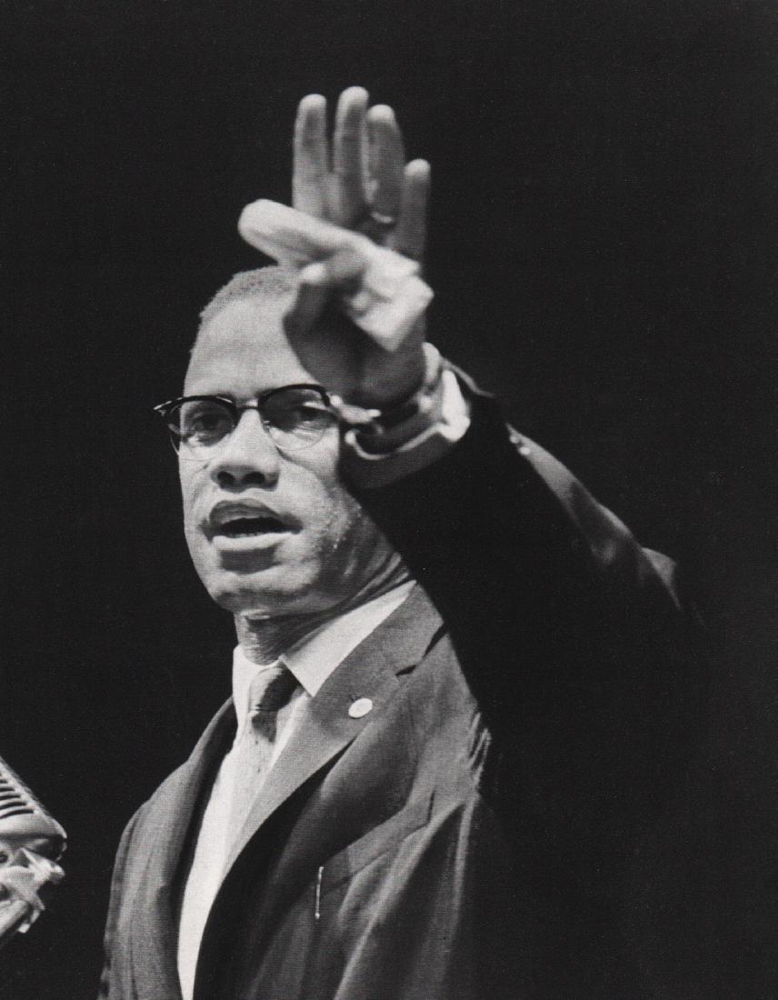 GORDON PARKS - Malcolm X, 1960