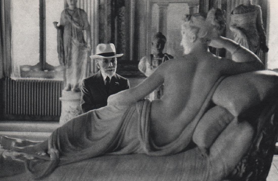 DAVID SEYMOUR - Bernard Berenson, Italy 1955