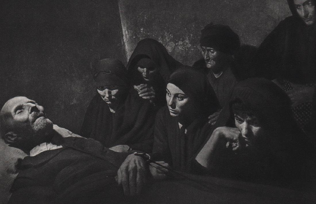 W. EUGENE SMITH - Spain, 1951, Mourners