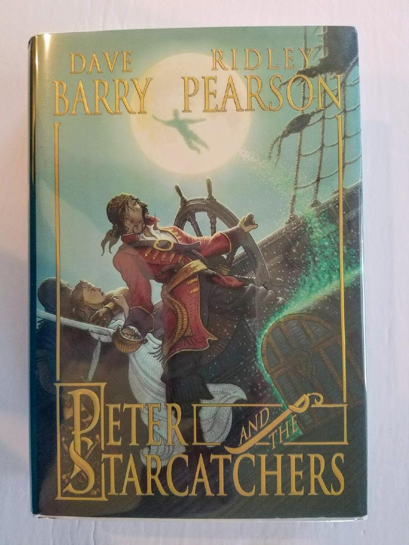 Signed by both Authors Peter and the Starcatchers