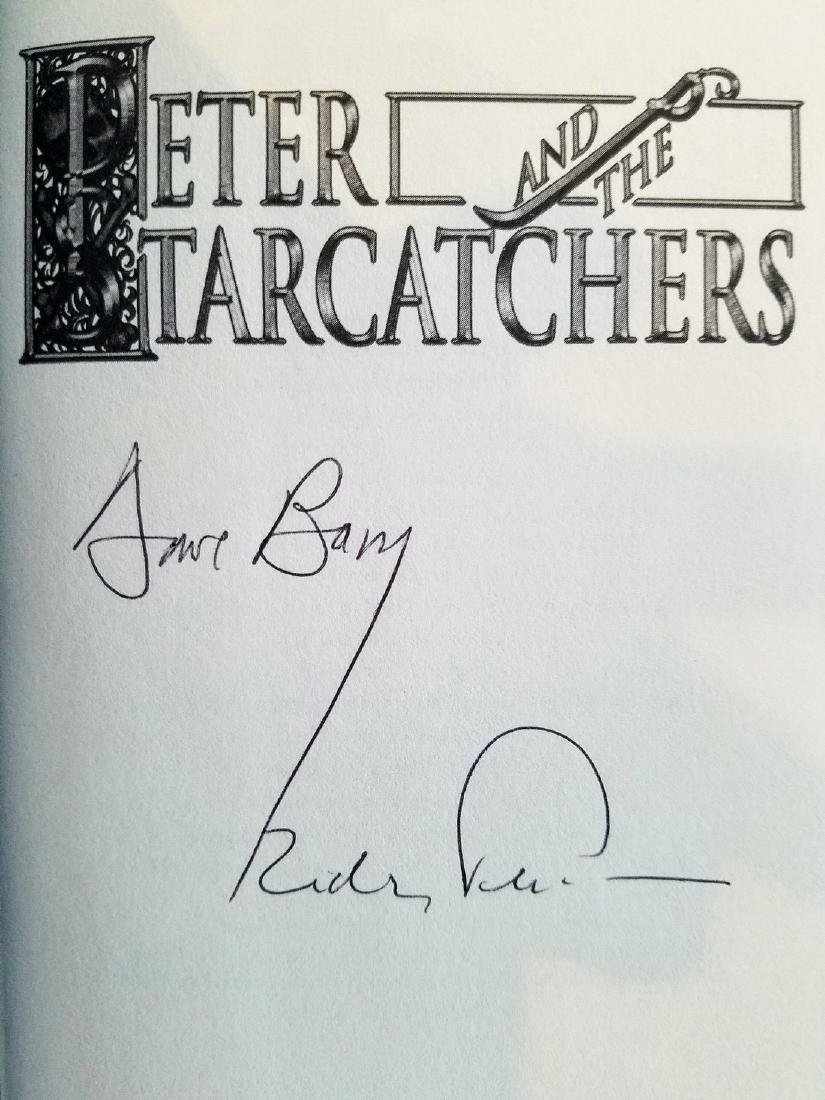 Signed by both Authors Peter and the Starcatchers - 2