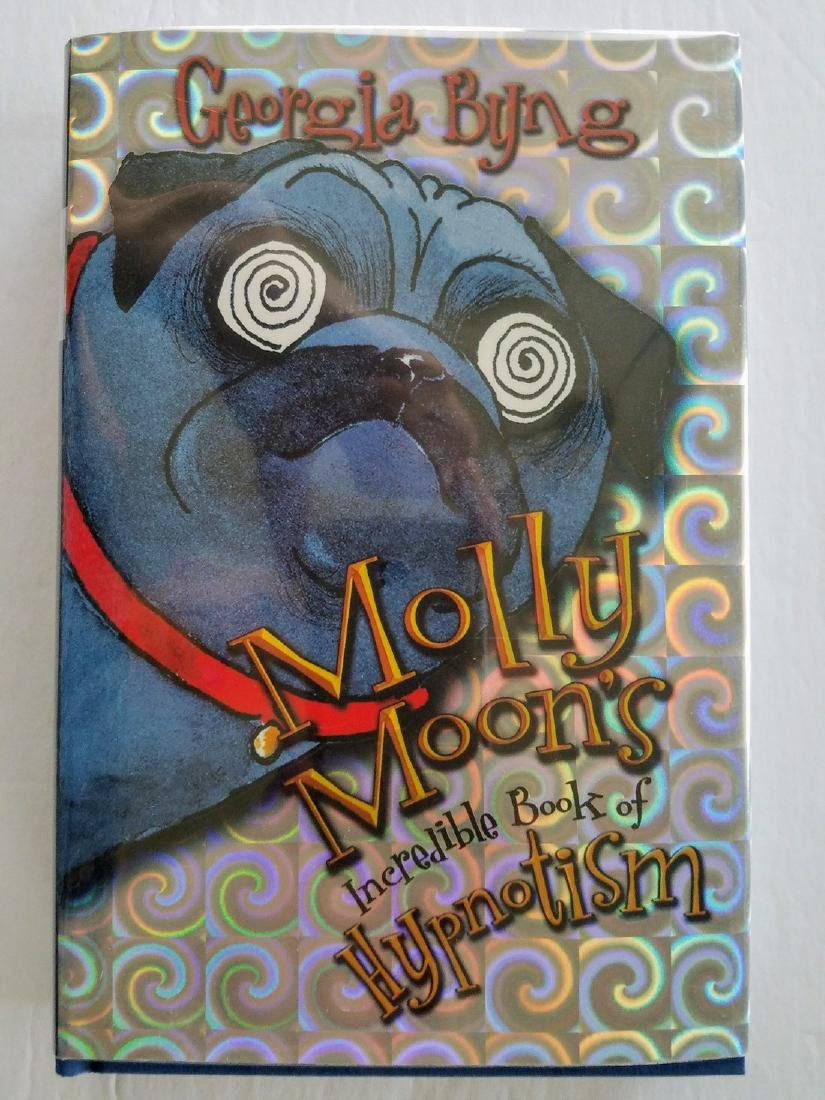Signed, Molly Moon's Incredible Book of Hypnotism