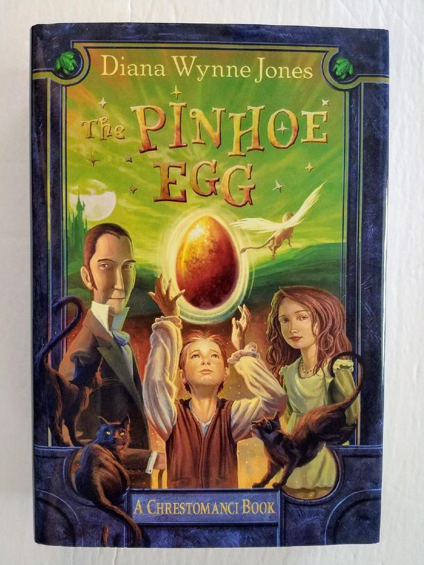 First Edition The Pinhoe Egg Diana Wynne Jones