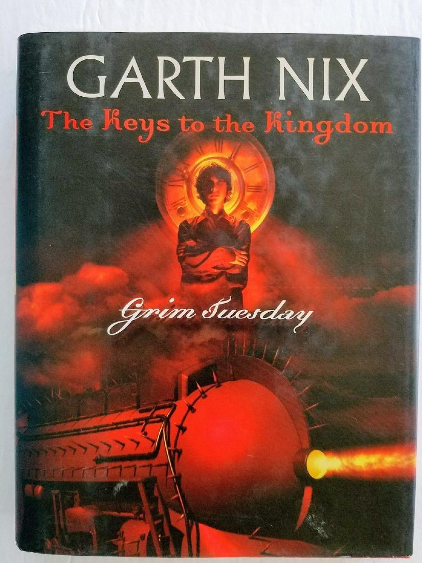 Signed, Garth Nix Grim Tuesday First Edition