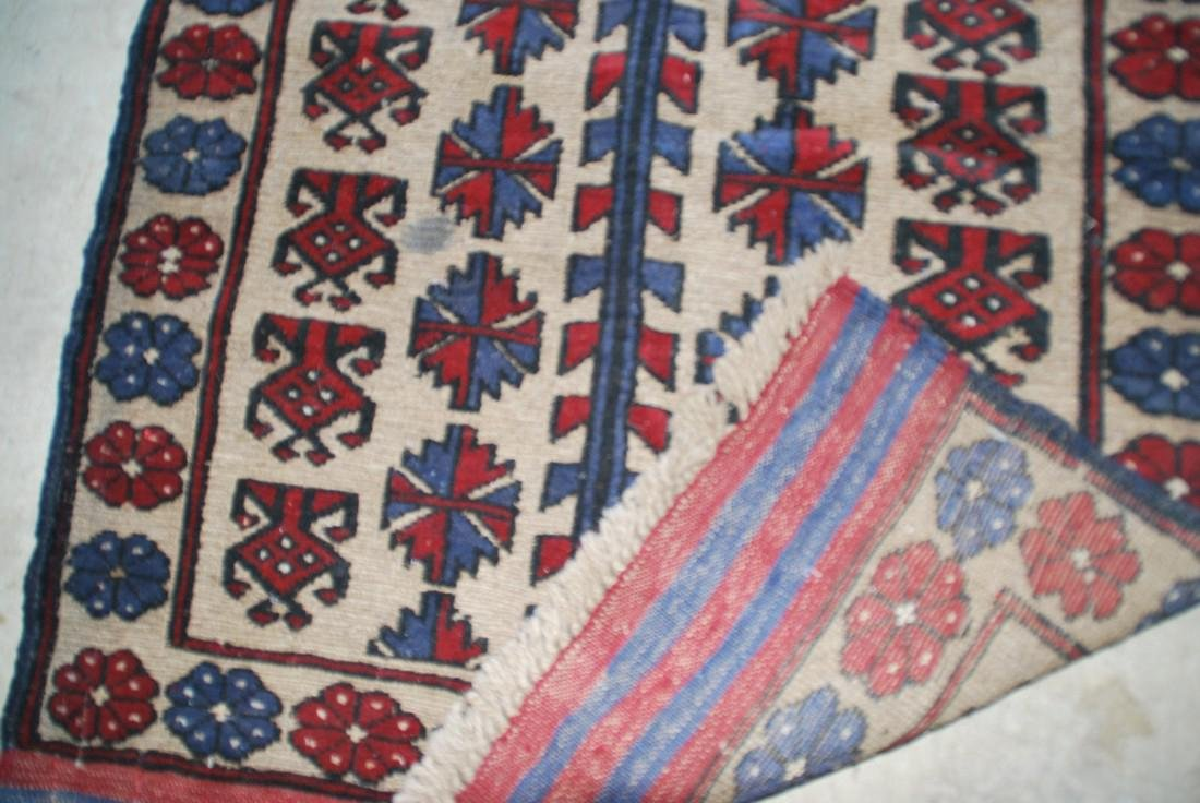 Vintage Baluch Capet Rug 4.4x2.5 - 2