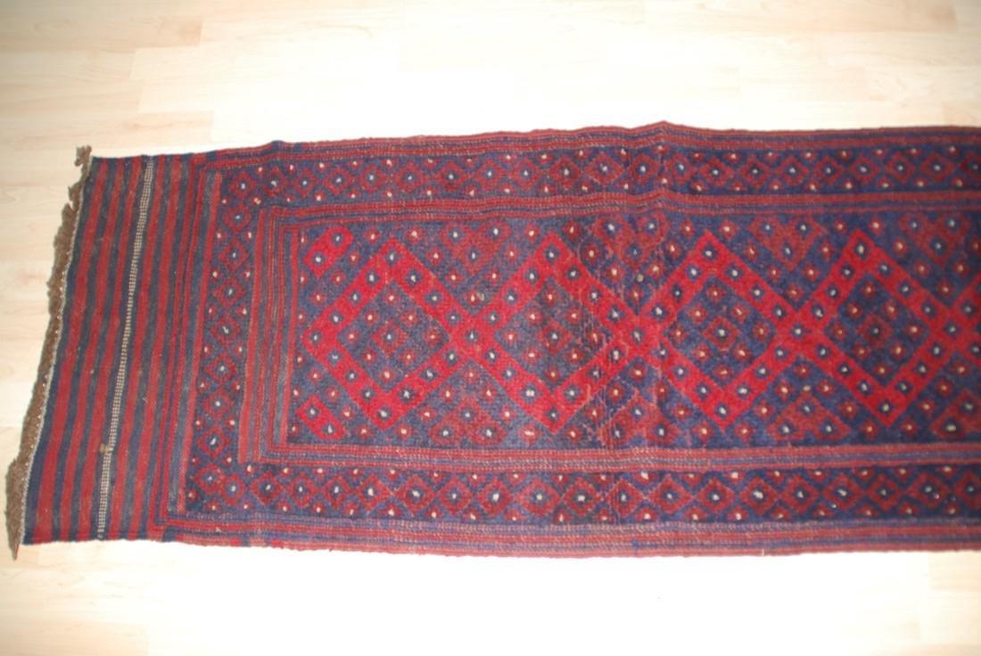 Herati Afghan Rug 8.3x1.9 - 2