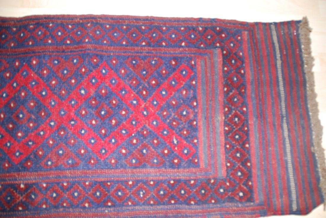 Herati Afghan Rug 8.3x1.9 - 4