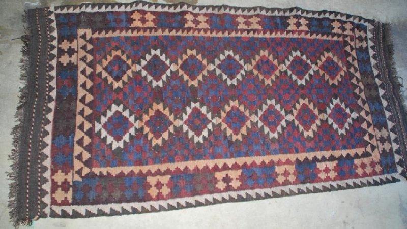 Tribal Afghan Rug 6x3