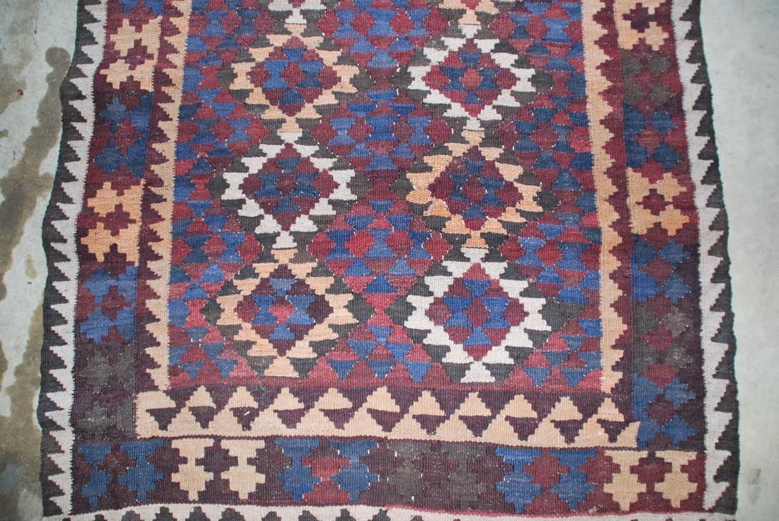 Tribal Afghan Rug 6x3 - 2