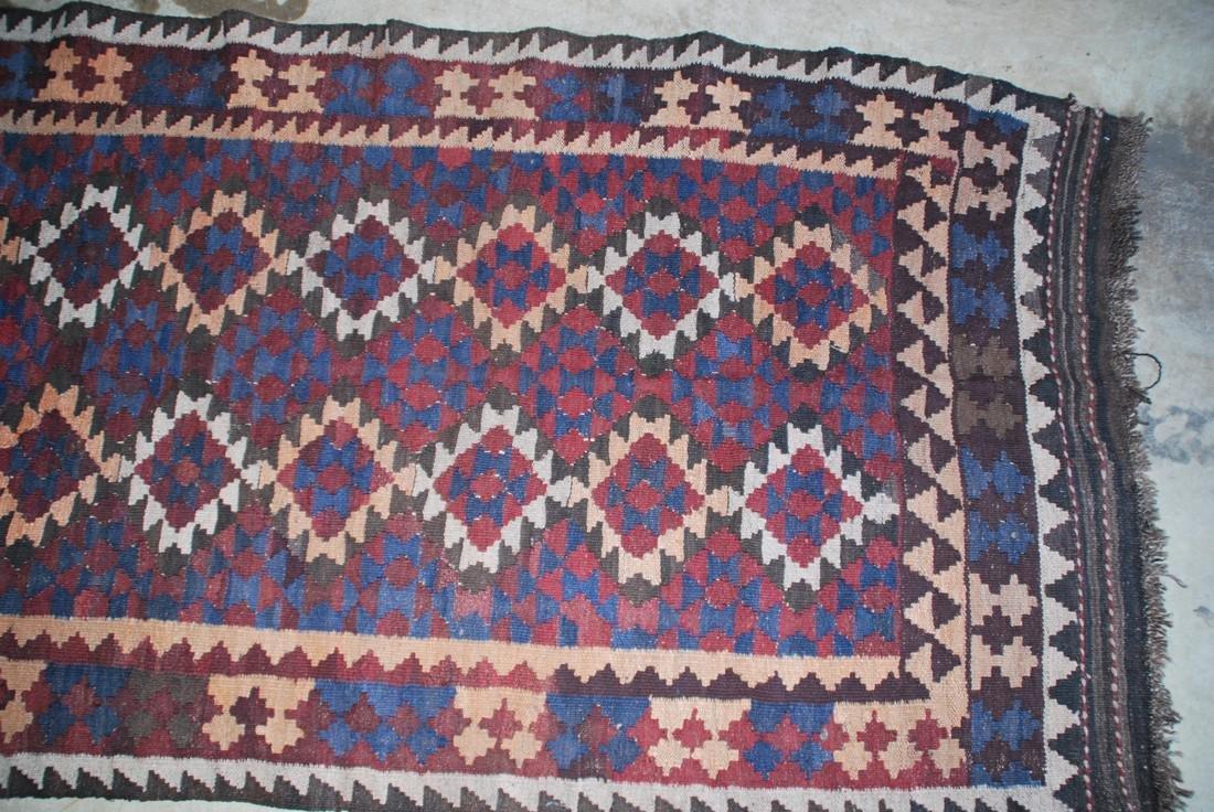 Tribal Afghan Rug 6x3 - 3