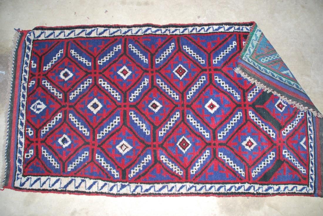 Herati Afghan Rug 4.2x2.6