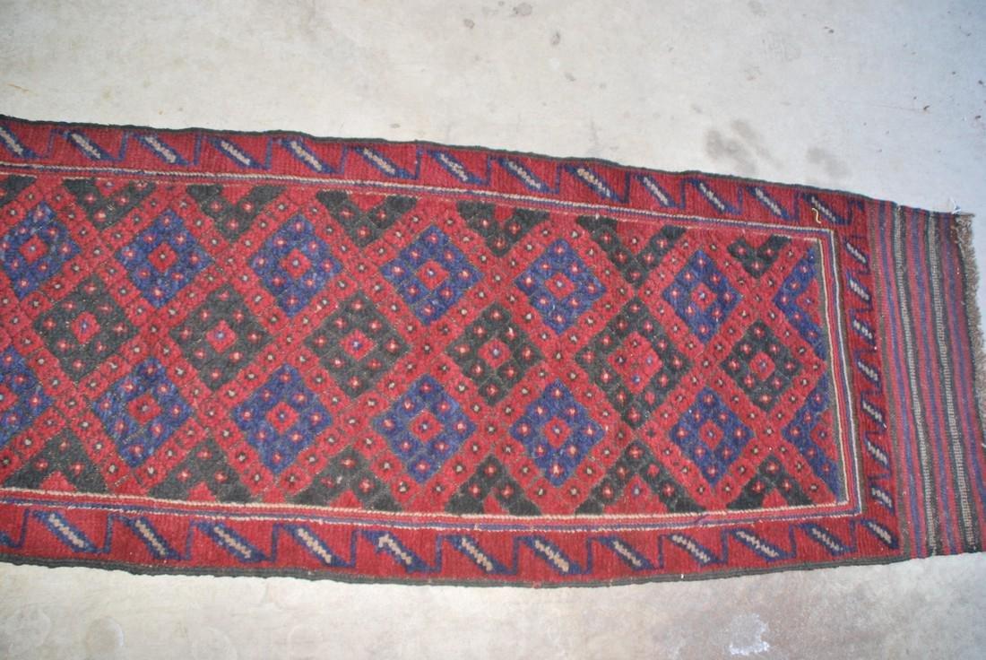 Herati Afghan Runner Rug 8.3x1.9 - 3