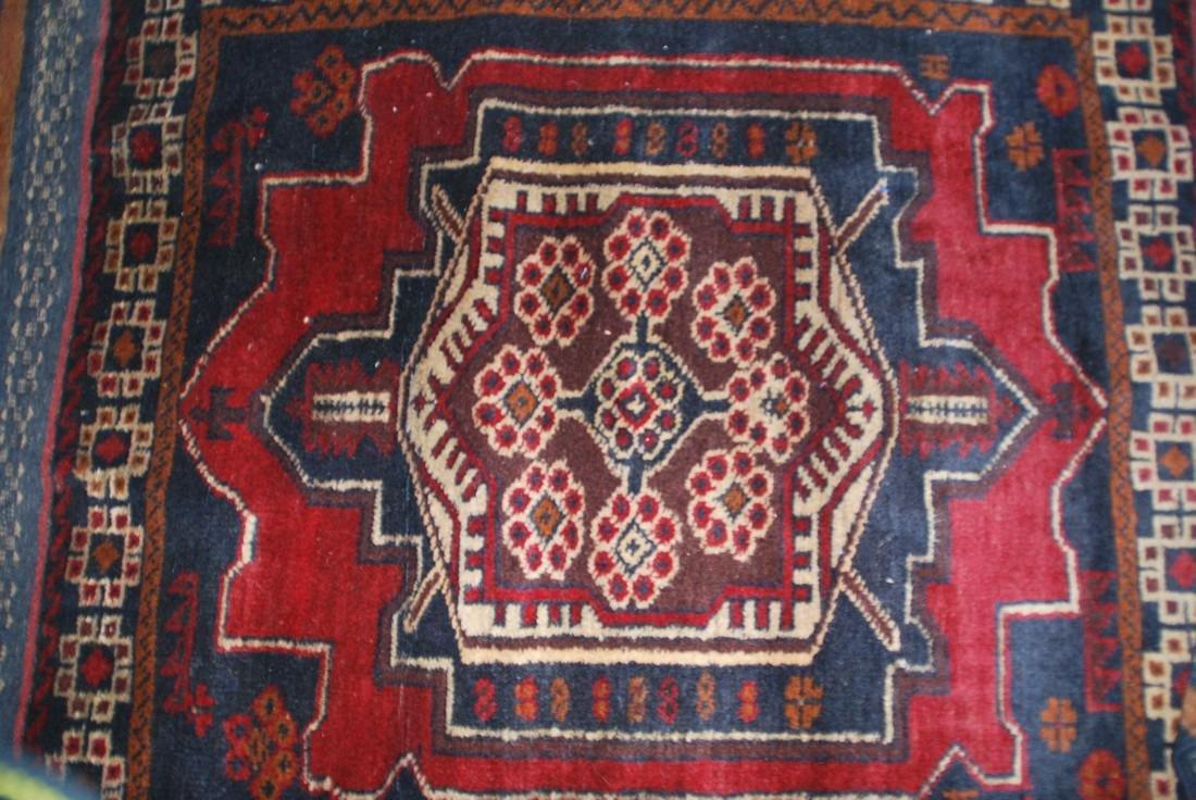 Herati Afghan Rug 4.7x2.5 - 2