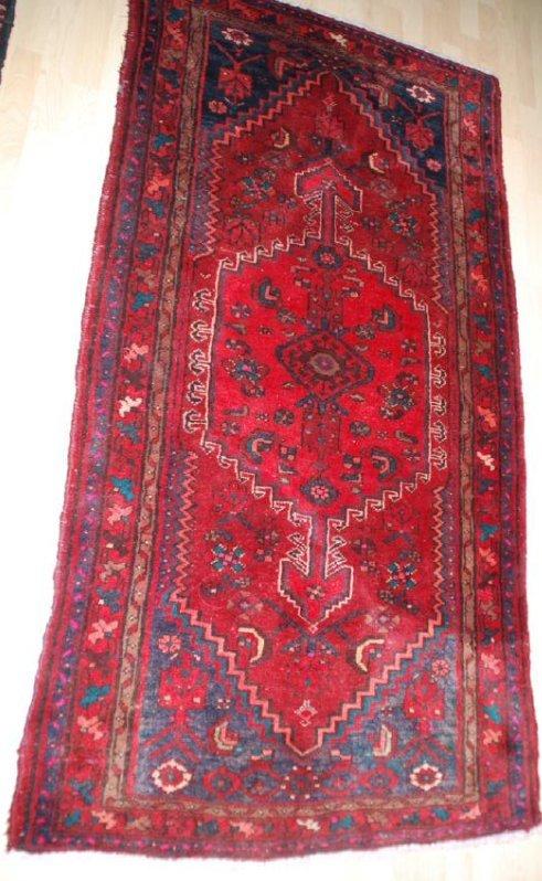 Antique Persian Rug 4.6x3.5