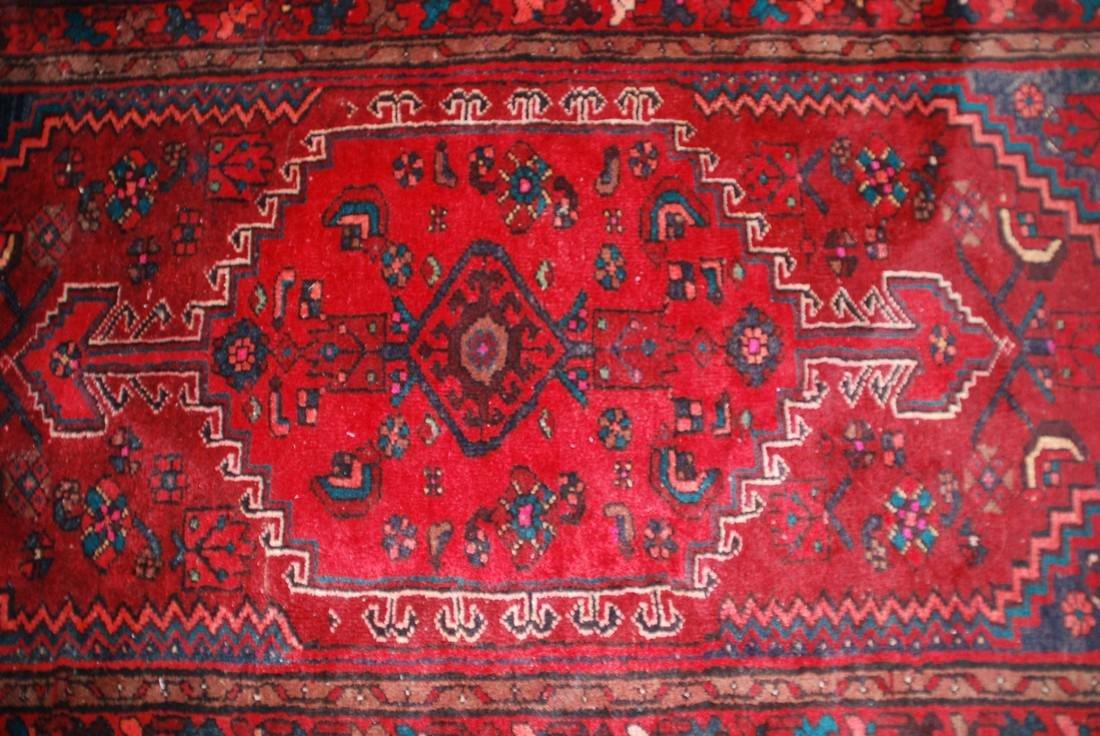 Antique Persian Rug 4.6x3.5 - 2
