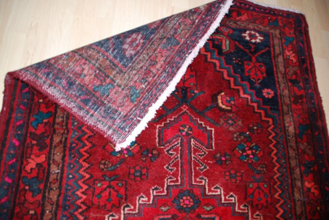 Antique Persian Rug 4.6x3.5 - 3