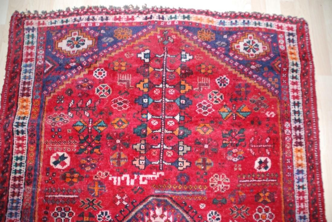 Antique Persian Tribal, Unique Animal Motif Rug 6.1x4 - 4