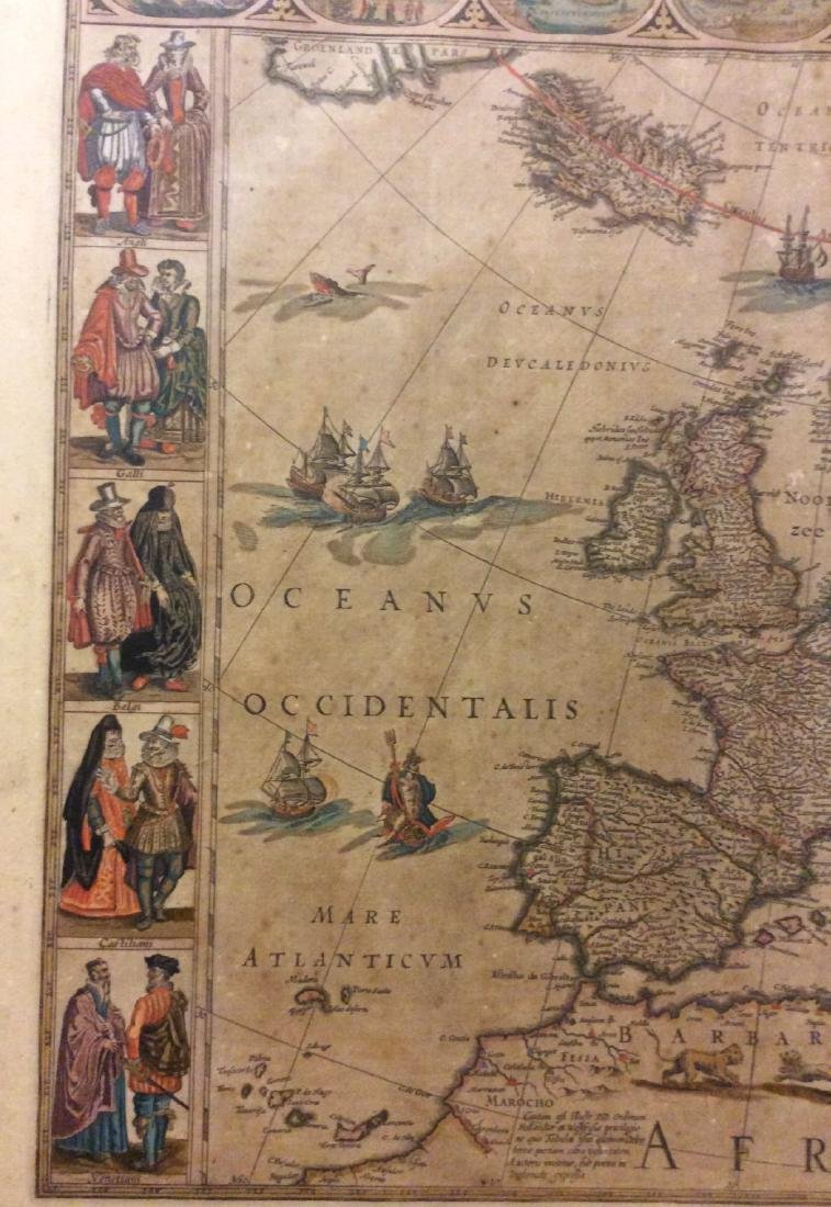 Blaeu: Antique Map of Europe, 1650 - 3