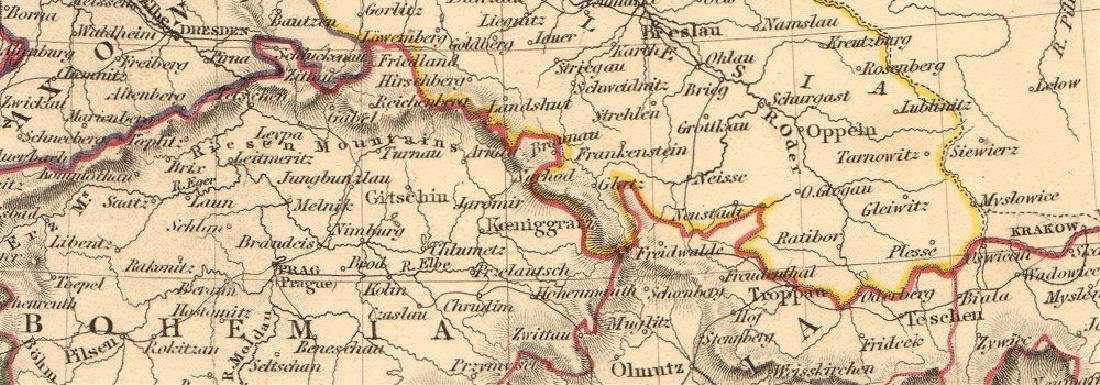 SDUK: Antique General Map of Germany, 1845 - 2