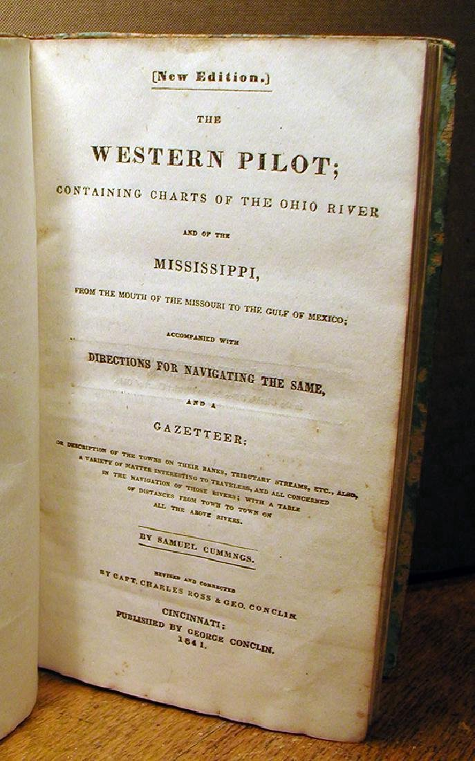 The Western Pilot by Samuel Cummings. 1841 - 2