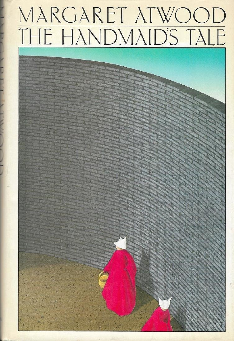 The Handmaid's Tale Signed First Printing with Bookcard